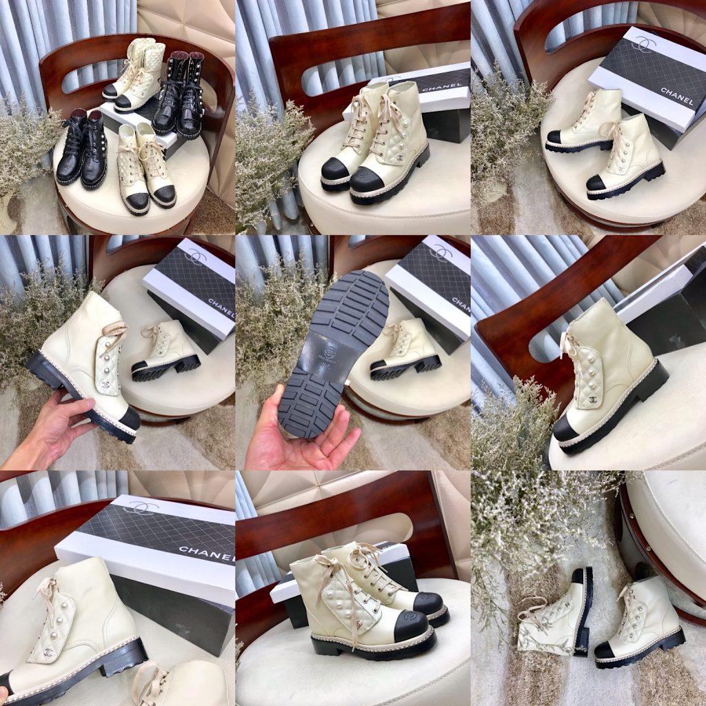 Chanel,香奈儿秋冬新款珍珠短靴