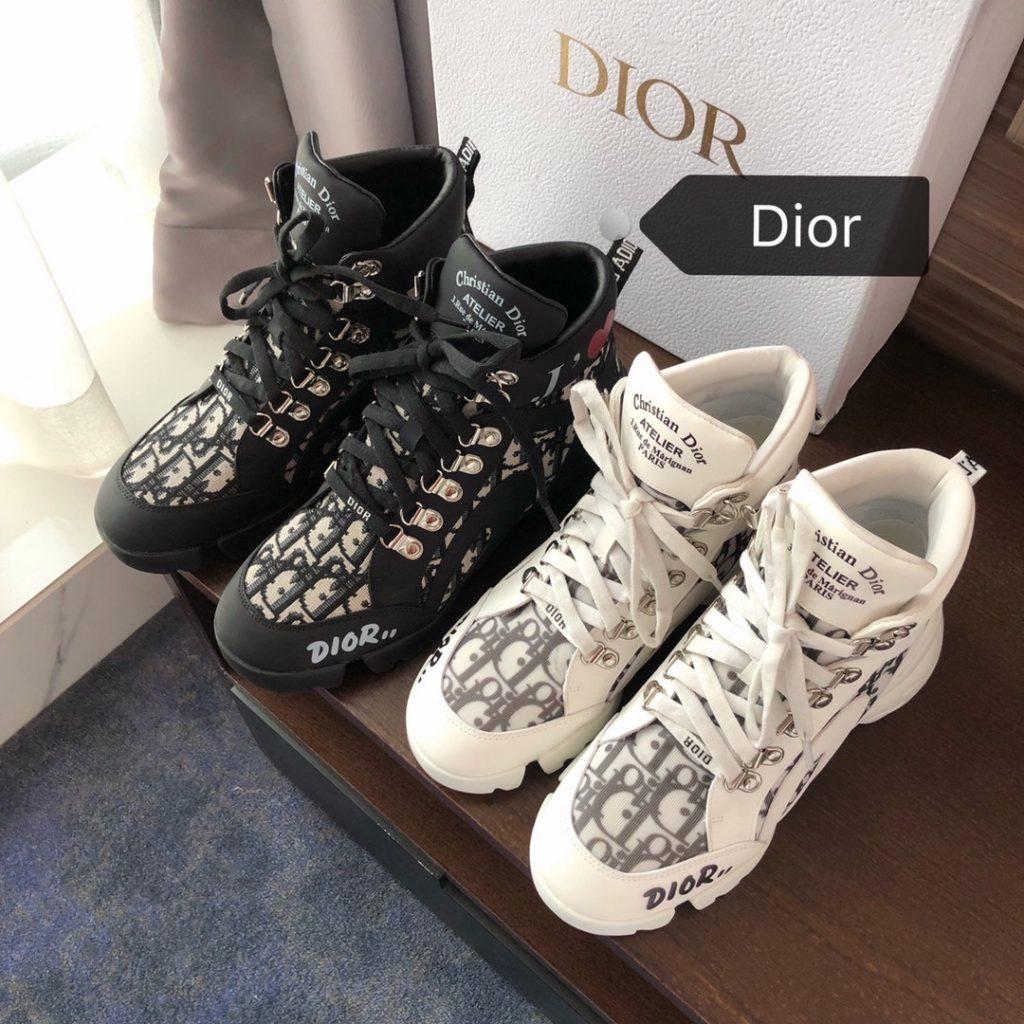 Dior,迪奥秋冬系列高帮老爹鞋,