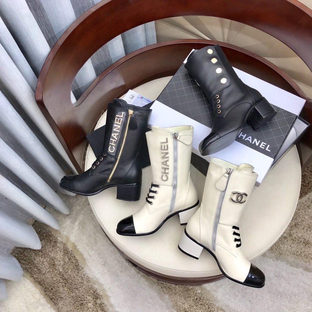 Chanel,香奈儿秋冬新款马丁靴