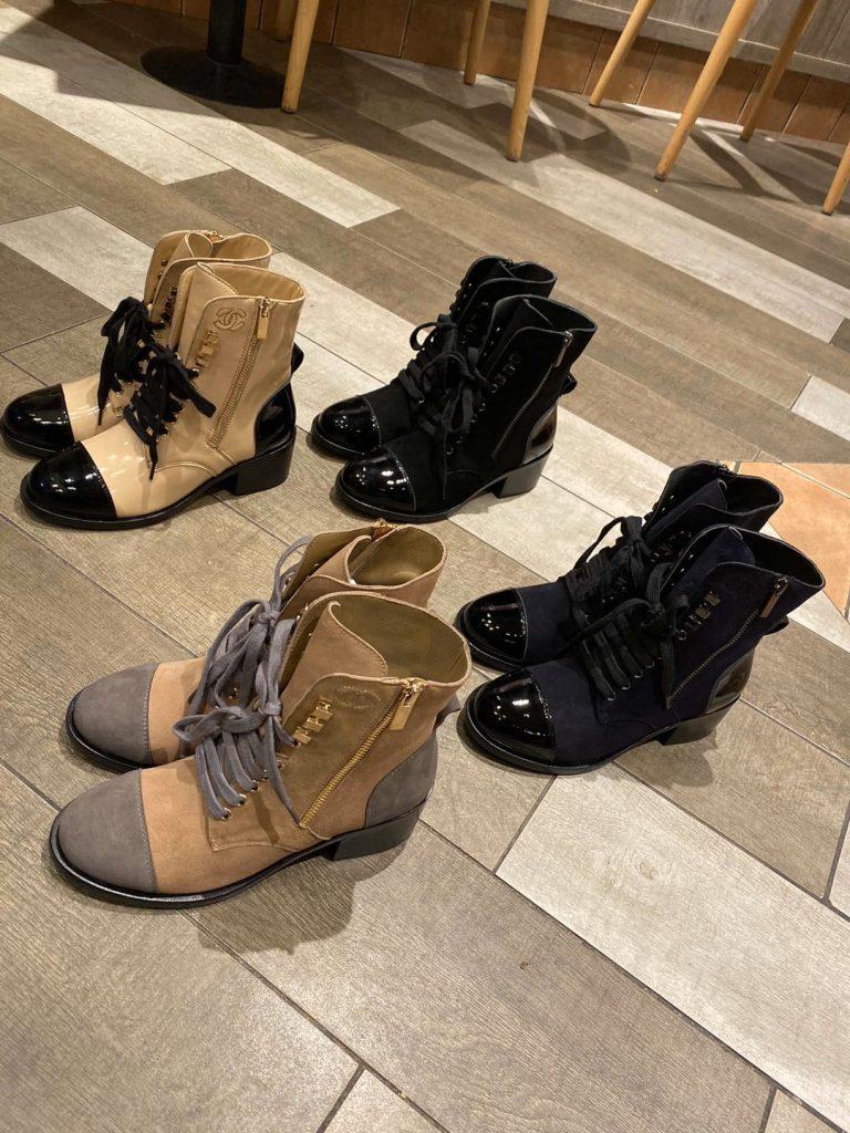 Chanel,香奈儿秋冬新款机车短靴