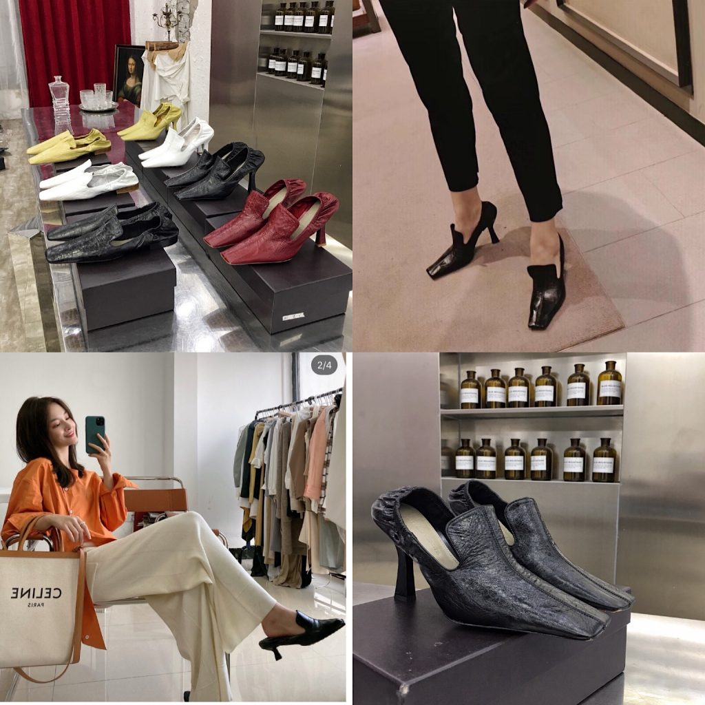 Bottega Veneta,葆蝶家早春女巫鞋系列,