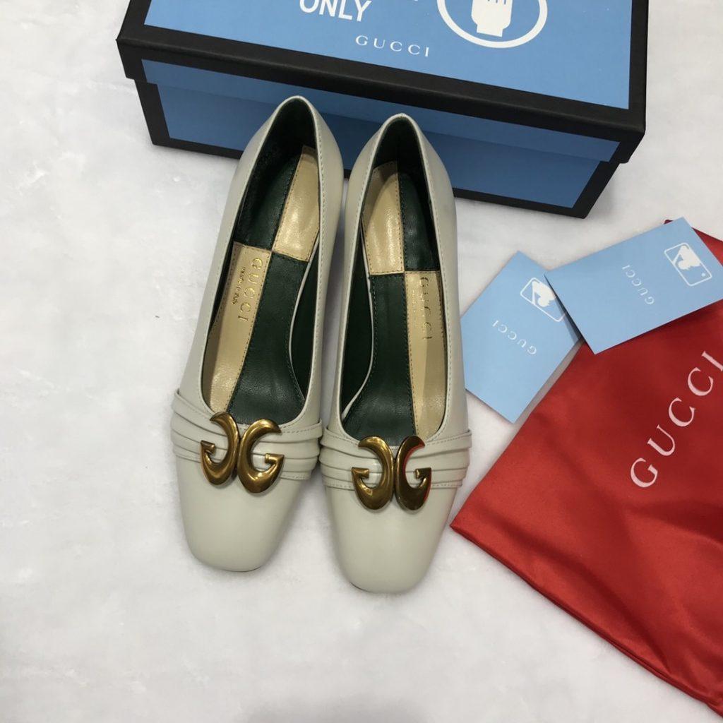 Gucci,古奇巴黎时装走秀款高跟鞋,