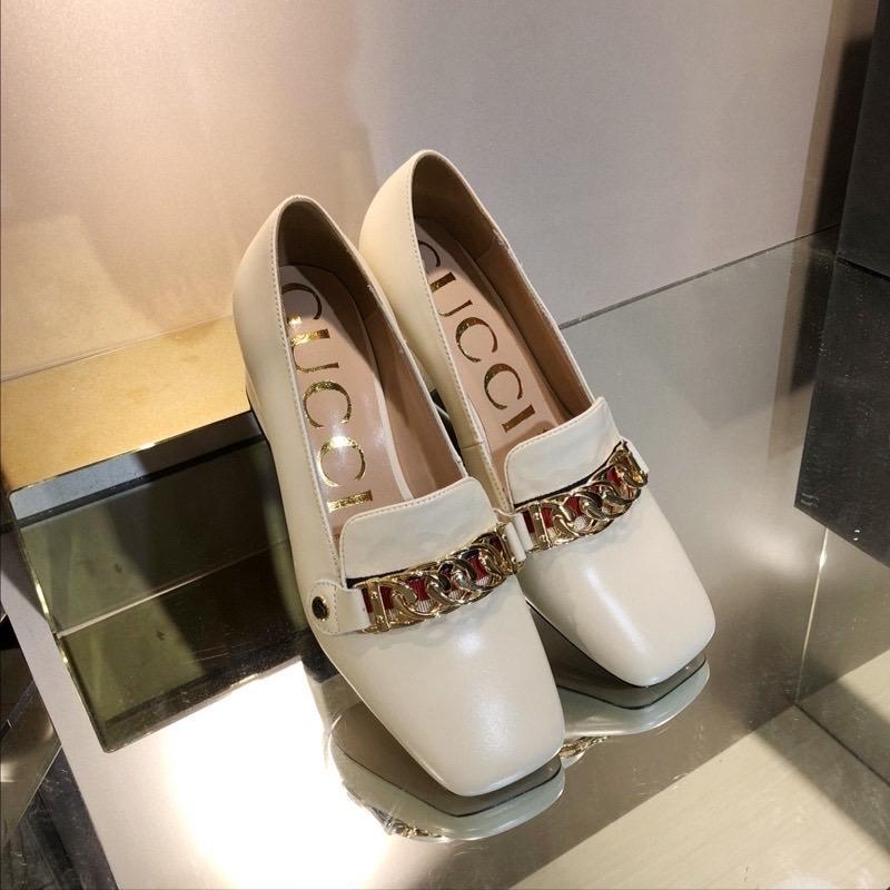 Gucci,古奇粗跟系列单鞋,