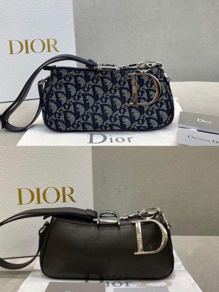 Dior,迪奥中古腋下包,23*13*5.5cm