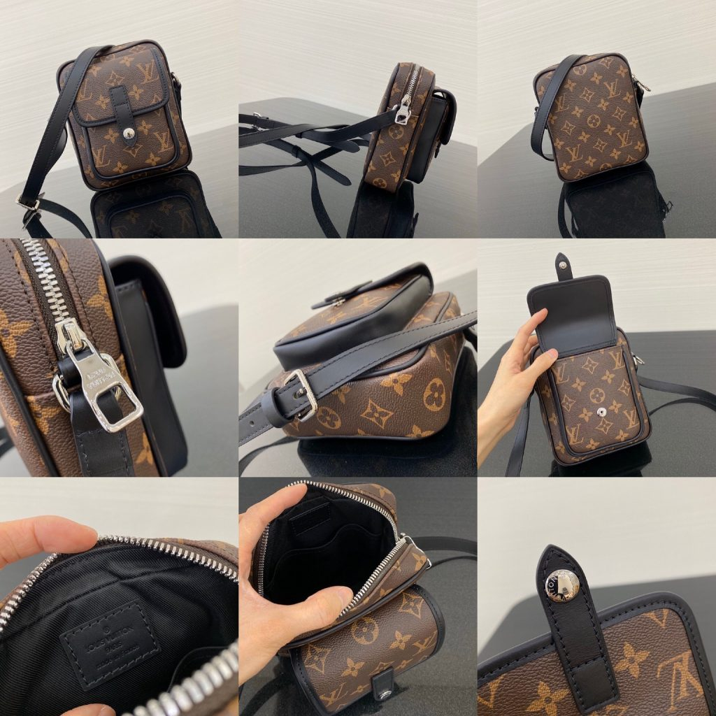 Louis Vuitton,路易威登相机包,15*5*18cm