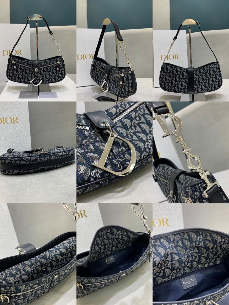 Dior,迪奥中古腋下包,31*12*7cm