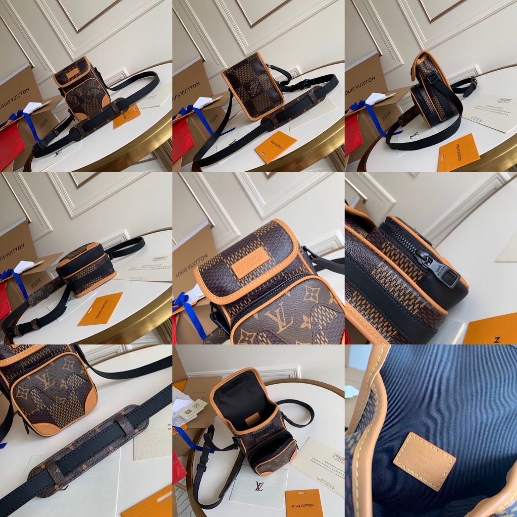 Louis Vuitton Keepall,路易威登相机包,13*18*8cm