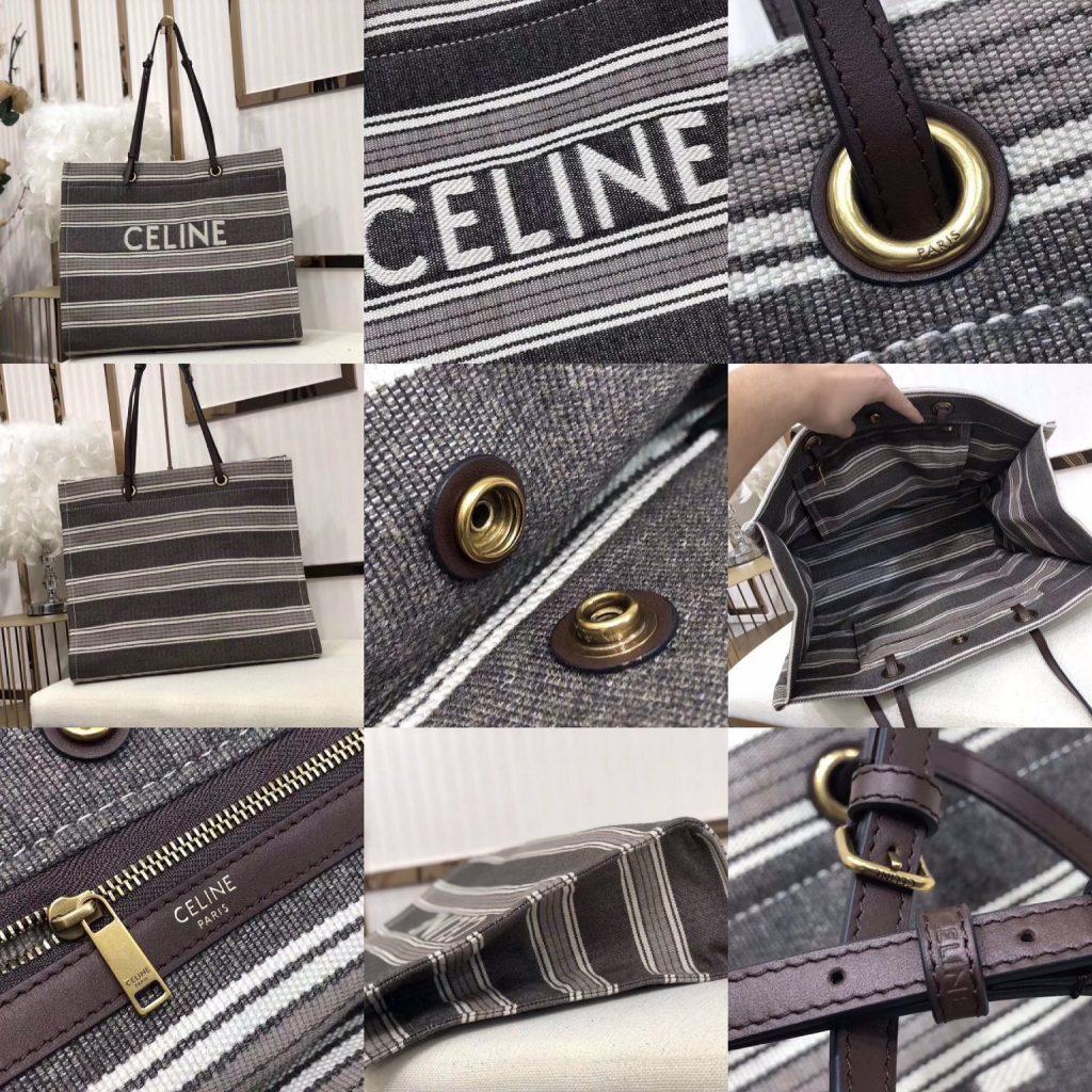 Celine,赛琳沙滩帆布包,43*35*15cm