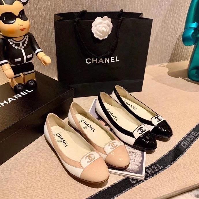 Chanel,香奈儿芭蕾鞋