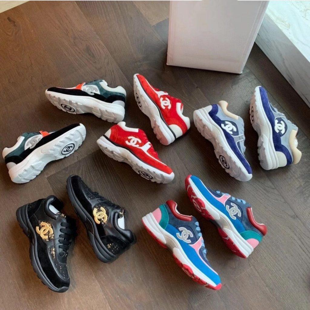 Chanel,香奈儿运动鞋