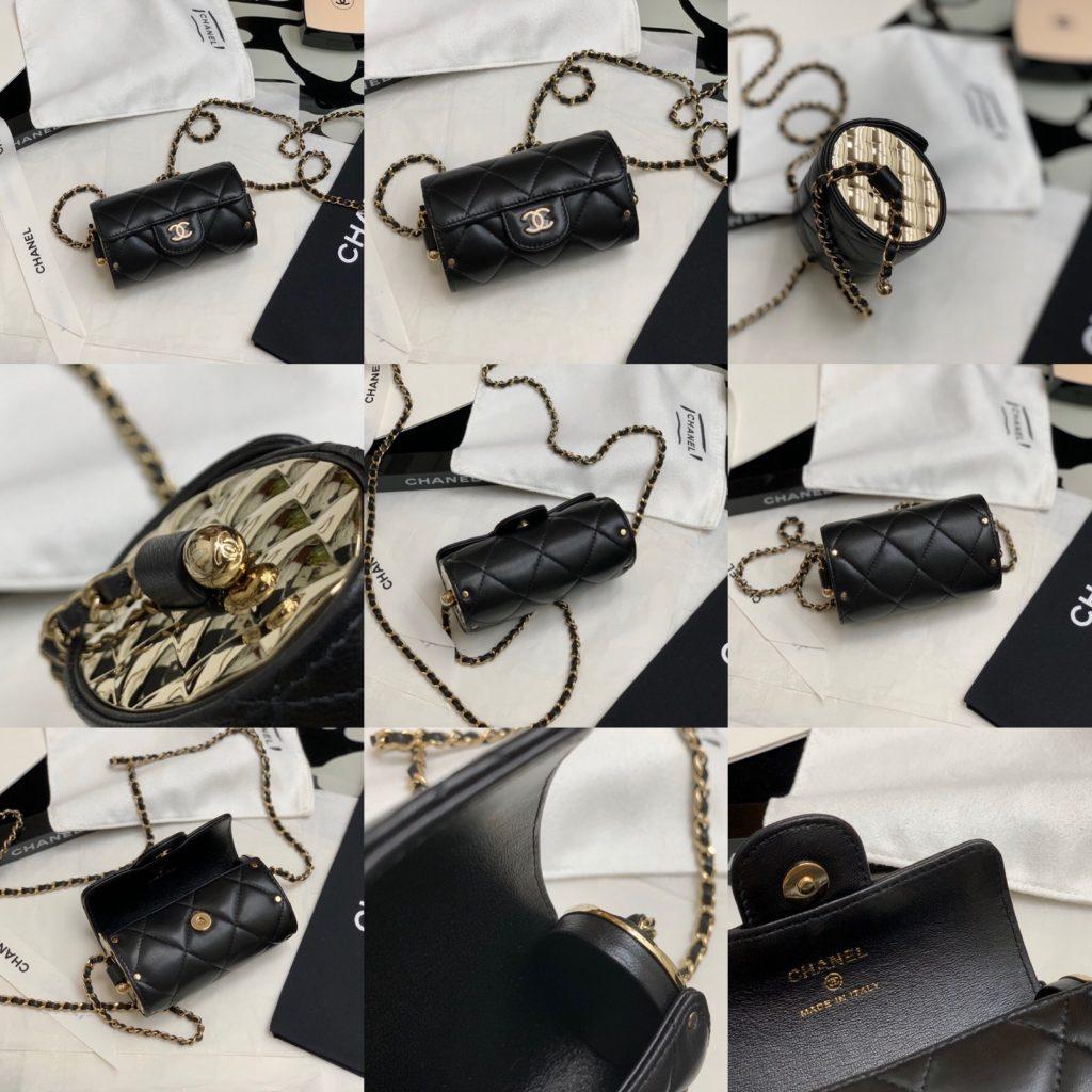 Chanel,香奈儿小圆筒口红包,
